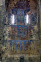 Fresco inside the Akhtala monastery photo