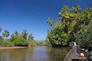 Tropical river photo