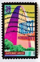 Gateway Arch Stamp