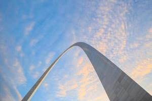 Top section of the Arch  St Louis photo