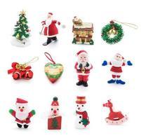 verzameling van kerst ornamenten