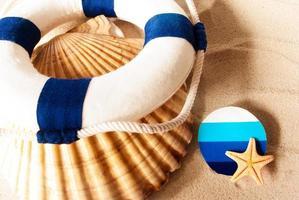 Summer items. photo