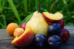 frutas de verano foto