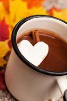 chocolate caliente foto