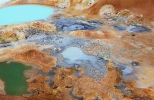 green hot spring photo