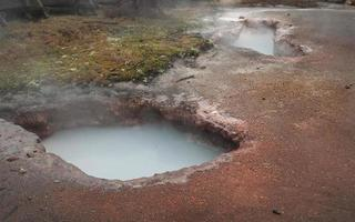 Hot Spring, Shapes in Nature Series