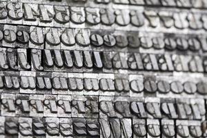 estilo de tipografia