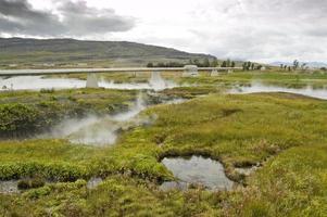 Geothermal spring photo