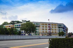 View on Eu Tong Sen Street. photo