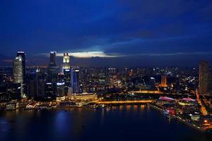 Singapore Skyline photo