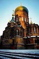 iglesia en harbin foto