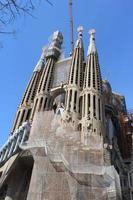 Basílica de la Sagrada Familia, Barcelona, España