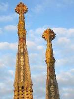 Sagrada Familia church in Barcelona photo