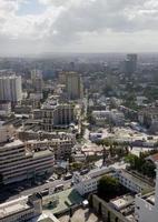high angle view over dar es salaam, tanzania photo