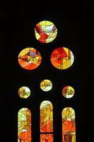 Sagrada Familia, beautiful and majestic interior photo