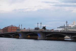 bridge from the Neva river photo