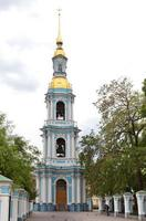 St. Nicholas Naval Cathedral .  Petersburg. Russia photo
