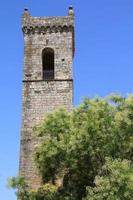 campana de la iglesia brihuega guadalajara, españa foto