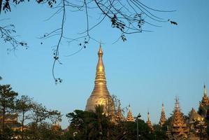 Shwedagon Pagoda , Yangon.