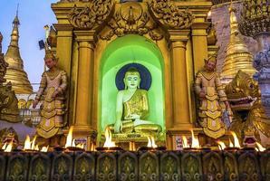 Shwedagon pagoda Yangon photo