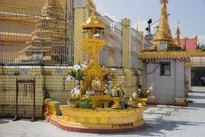 Botataung pagoda, Yangon, Myanmar photo