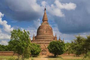 Single Padoga in Bagan, Myanmar photo