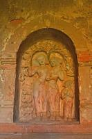 The bas-relief on the wall of an ancient pagoda, Bagan