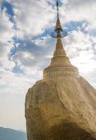 Pagoda in Myanmar photo