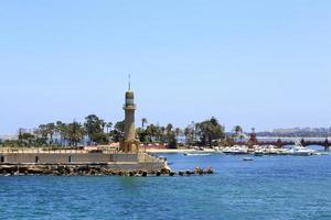 Old light house, Alexandria, Egypt photo