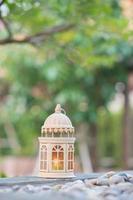lámpara árabe foto