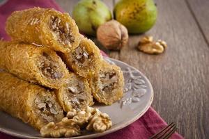 Turkish traditional ramadan pastry dessert