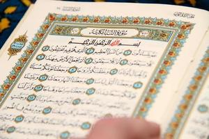 Reading The holy Quran