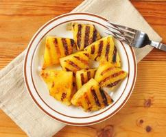 Grilled pineapple photo