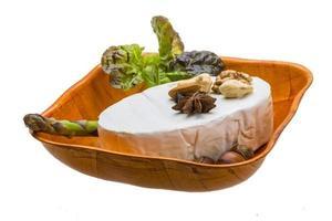 frischer weicher Briekäse