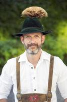 portrait of bavarian man photo