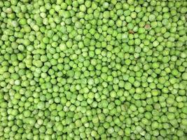 Frozen peas as background photo