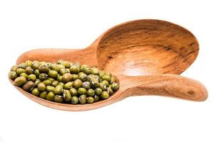 Mung bean in spoon photo