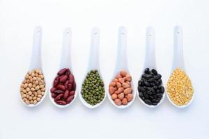 Collection set of beans photo