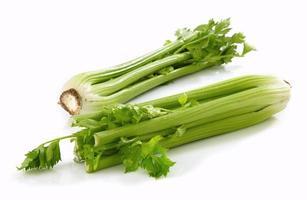 fresh green celery photo