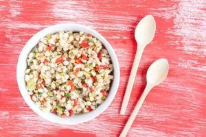 wheat salad photo