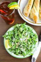 Arugula salad photo
