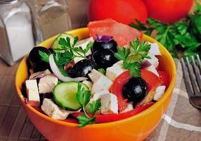 tazón con ensalada