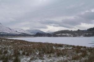 paisaje escocés sombrío