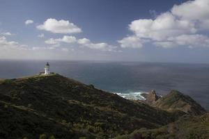 Lighthouse and Landscape photo