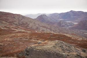 paisaje ártico en groenlandia