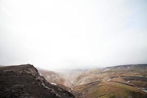 paisagem vulcânica - landmannalaugar, islândia