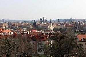 S t. paisaje de la catedral de vitus foto
