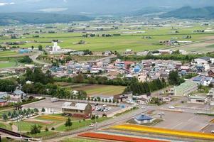 paisaje de campo en japón