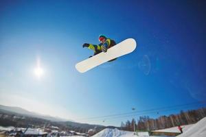 deporte de invierno foto