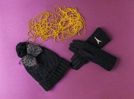 Winter set photo